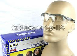 North CLEAR SAFETY SHOOTING GLASSES GREY FRAMES T57005GRY Ey