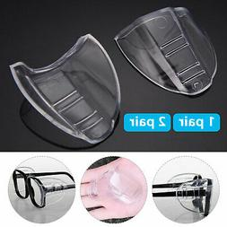 Clear Universal Flexible Protective Side Shields for Eye Gla