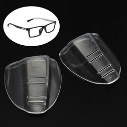 2pcs clear universal flexible side shields safety glasses goggles eye protect CH