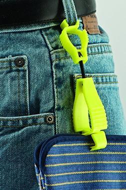 Glove Guard Clip, Safety Breakaway Belt Loop Attachment  Hig