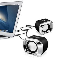 Computer Speakers BeBomBasics SP20 USB 2.0 Multimedia Small