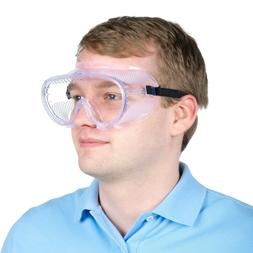 Concealer Clear Anti-Fog Safety Goggles Eye Chemical Face Pr