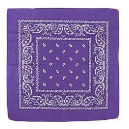 New Fashion Sport Cotton Paisley Printed Bandanas Head Wrap