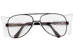 Crews Engineer 58 mm Safety Glasses With Metal Black Frame,
