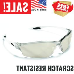 Crews Law Protective Safety Glasses Clear Lens Frame Indoor