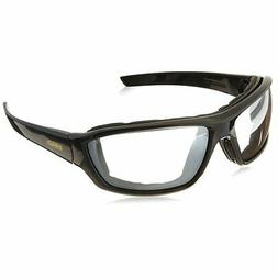 DeWalt Crosscut Safety Glasses with Black/Gray Frame and Ind