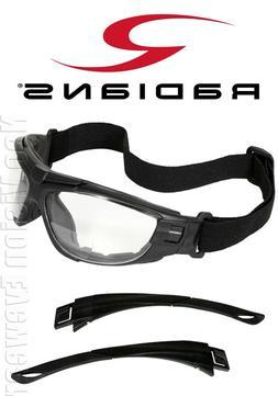 Radians Cuatro 4-in-1 Bifocal/Clear/Anti Fog Safety Glasses