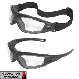 Radians Cuatro 4-in-1 Clear/Anti Fog Safety Glasses Hybrid G