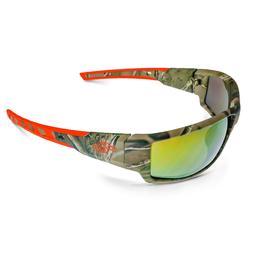 CROSSFIRE Cumulus Premium Safety Glasses Camo Frames Gold Mi