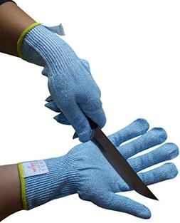 Cut Resistant Gloves for Kitchen – Level 5 Protection for