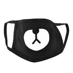 Acamifashion Cute Bear Anti-dust Cotton Mouth Mask for Men a