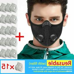 Cycling Air Purifying Face Ma SK Activate Carbon Filter Anti