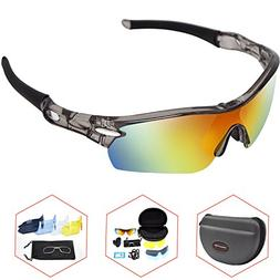 Cycling Goggles, Fishing Goggles, Sports Polarized Sunglasse