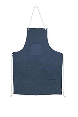 Cordova Safety Products DA2T Denim Apron with Sewn Ties, No