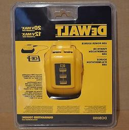Dewalt DCB090 12V/20V MAX USB Lithium-Ion Power Source