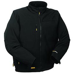 DEWALT DCHJ060ABB-L Heated Soft Shell Jacket, L, Black