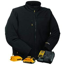 DEWALT DCHJ060ABD1-2X Heated Soft Shell Jacket, 2X, Black