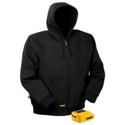 DEWALT DCHJ061B-XL 20V/12V MAX Black Hooded Heated Jacket an