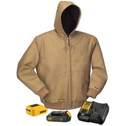 DEWALT DCHJ064C1-2XL 20V/12V MAX Hooded Heated Jacket Kit, K