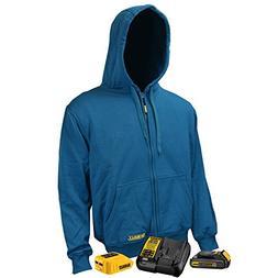 DeWALT DCHJ069C1 Unisex 3 Core Heated Fleece Hoodie with 20-