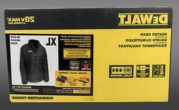 DEWALT DCHJ077D1-XL X-Large Heated Black Jacket Ladies Quilt
