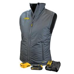 DeWALT DCHVL10C1 20-Volt/12-Volt Women's Heated Quilted Gray