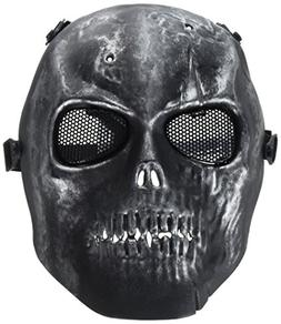 A-szcxtop™Death Skull Mask - Army Airsoft Paintball Full F