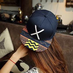 Lsinyan New Hot Deep Blue Fashion Baseball Snapback Hats and