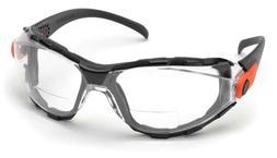 Elvex Delta Plus GO Specs Bifocal Safety Glasses Clear AF Le
