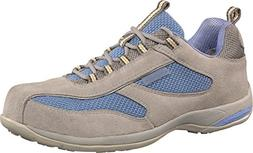 Deltaplus Men's Antibes S1 Safety Shoes US Size 4 Blue / Gre
