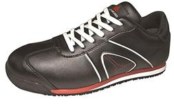 Deltaplus Men's D Spirit S3 Leather Low Shoes US Size 5 Blac