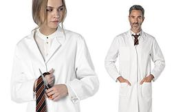 Deluxe Student Lab Kit - Dr. James Unisex White Lab Coat & S