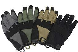 PIG Full Dexterity Tactical  Alpha Gloves - Carbon Grey - 2X