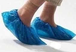 HAKSTARRR Disposable Shoe Covers, 100-Pack ,Blue
