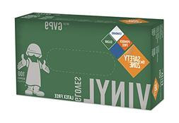 Disposable Vinyl Gloves - Powder Free, Clear, Latex Free and