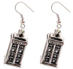 Doctor Who - Tardis Earrings by YZAM