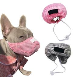 Dog Face Mask Anti-Fog Pet Dust Mask With Adjustable Strap A