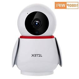 JZTEK 1080P HD Dome 355 Wide Angle Wireless WiFi Baby Monito