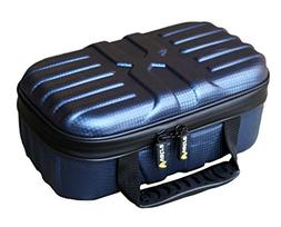 "Vatra Double Decker Large Smell Proof Vape Case Blue 10.5""X6"