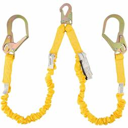 Double Leg 6-Foot Fall Protection Internal Shock Absorbing S