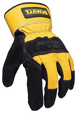 Dewalt DPG41 Premium Split Cowhide Lather Palm Glove Black/G
