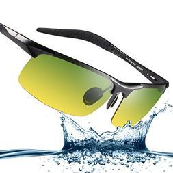 Bertha Fashion Driving Polarized Sunglasses for Men Unbreaka