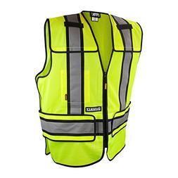 DEWALT DSV421-S/XL Class 2 Adjustable Breakaway Vest, Medium