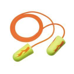 3M E-A-R E-A-Rsoft Yellow Neon  Blasts  Corded Earplugs, Hea