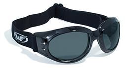 Global Vision Eyewear Eliminator Z Safety Glasses with Black