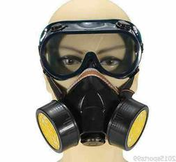 Emergency Survival Safety Respiratory Gas Mask /2 Dual Prote