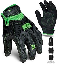 Ironclad EXO-MIG-03-M Motor Impact Gloves, Medium