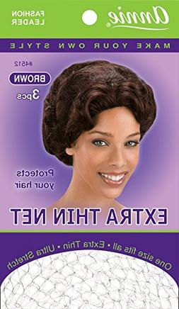 Extra Thin Hair Net  - 24 Piece, Protects Your Hair, Form Fi