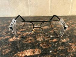 Crews Engineer Eyeglasses Frames Aviator Safety Glasses CV58