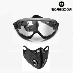 RockBros Eyes Protective Glasses Anti-Wind Dust Proof Safety
